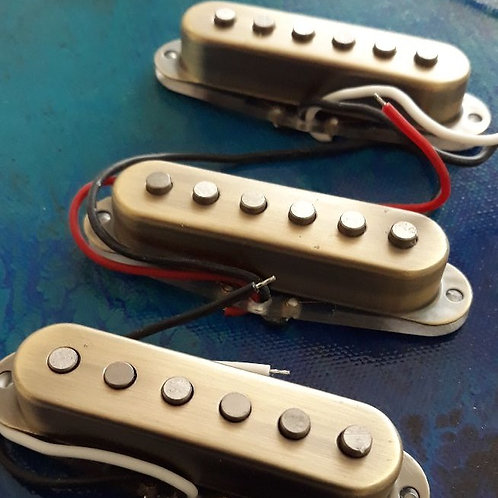 Strat Style Metal Cover Set