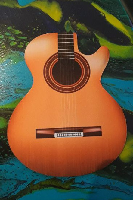 Guitar Mouse Pad Acoustic