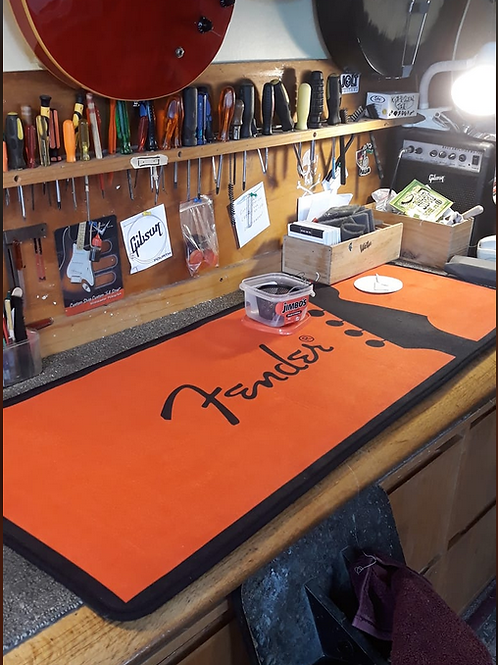 Large Fender Floor Mat Work Matt