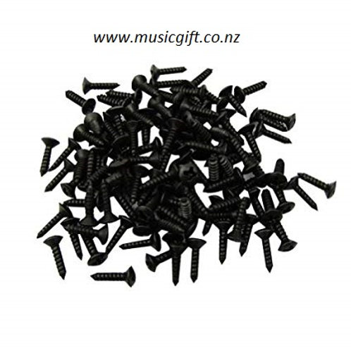 Scratchplate Screws Black Pack (100 )
