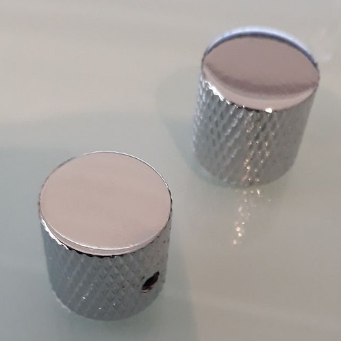 High Quality All Steel Flat Tops Chrome Knobs