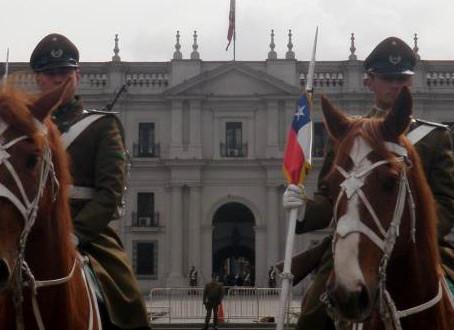 Primeiro dia no Chile!