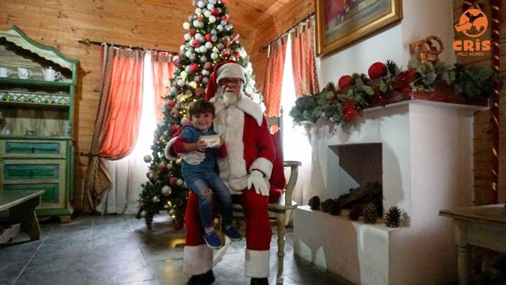 casa do Papai Noel Penedo Cris pelo Mundo