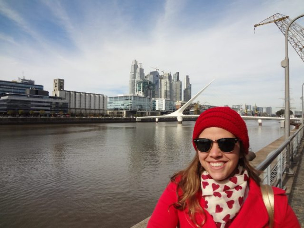 Puente Mujer - Puerto Madero