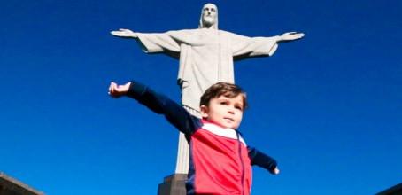 O Cristo Redentor só para mim!!!