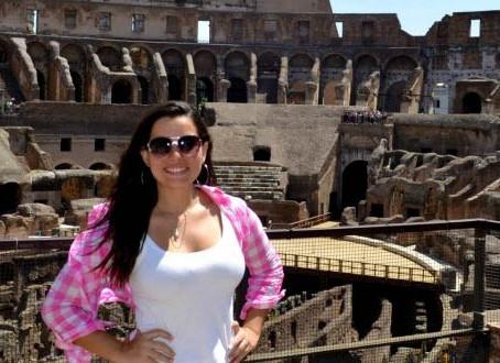 Roma e o Coliseu.