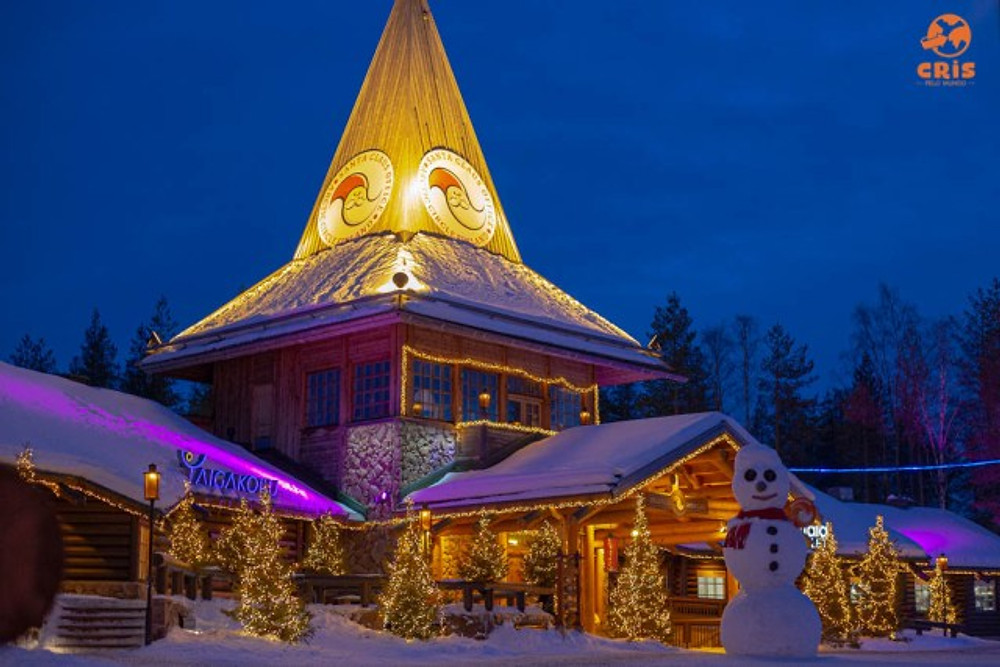 SANTA CLAUS VILLAGE ROVANIEMI E A CASA DO PAPAI NOEL DE VERDADE POLO NORTE SANTA CLAUS VILLAGE