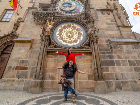 Relógio Astronômico de Praga e a Antiga Câmara Municipal