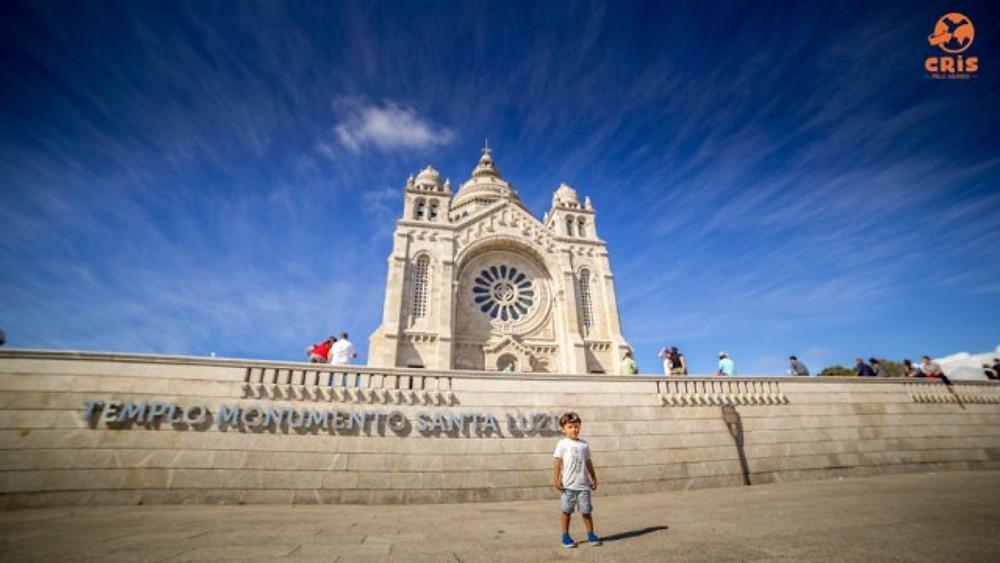 TEMPLO MONUMENTO SANTA LUZIA BASILICA DE VIANA DO CASTELO