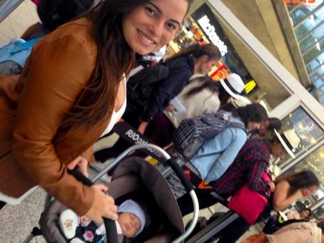 Viajar de avião com bebê – Como é?!
