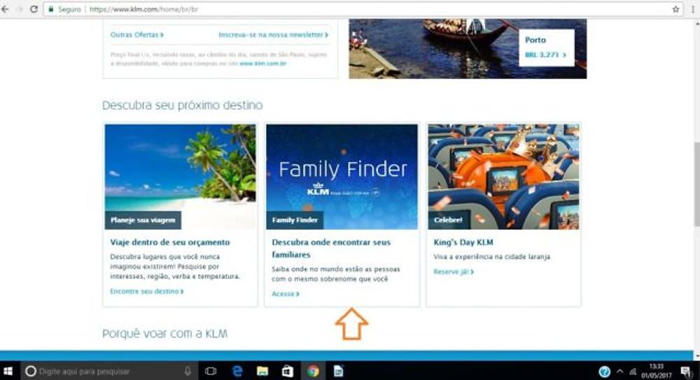 family finder crisstilben KLM crispelomundo