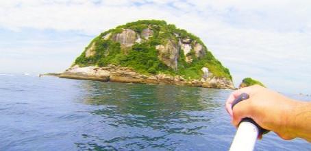 Travessia para as Ilhas Tijucas