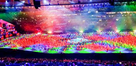 Abertura das Olimpíadas – Rio 2016