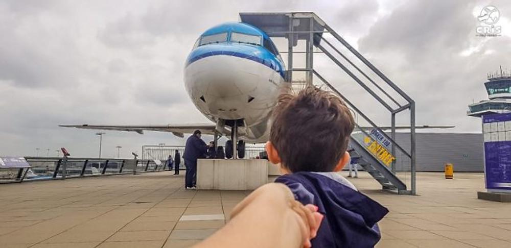 Voar KLM na Europa 3