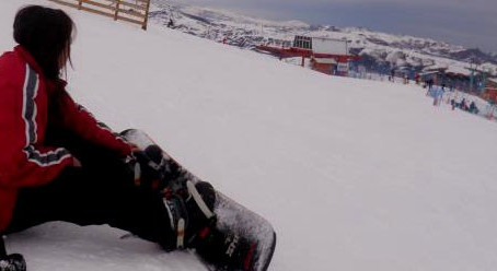 Chegando em El Colorado! Snowboarding!!!!!!!!!!!!!!!