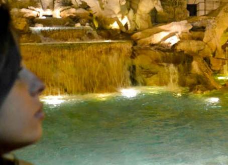 Roma e a Fontana di Trevi