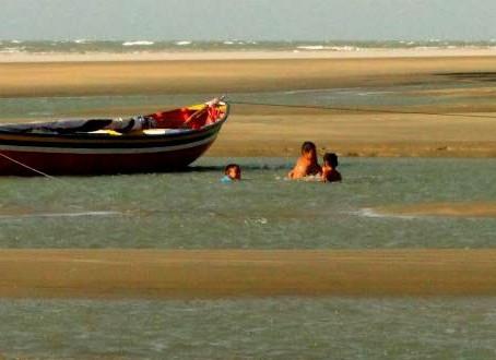 Terceiro dia e a praia do Maceió em Camocim!