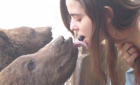 A parte mais legal do Zoo Lujan!!