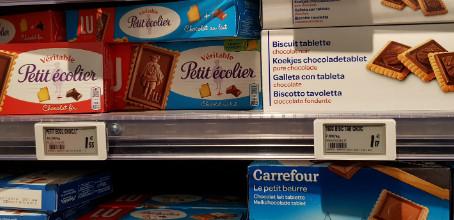 Supermercado em Paris uma bela maneira de economizar