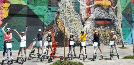 Trikke Tour : Conhecendo o Boulevard Olímpico