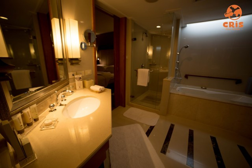 Dusit Thani Bangkok crispelomundo banheiro