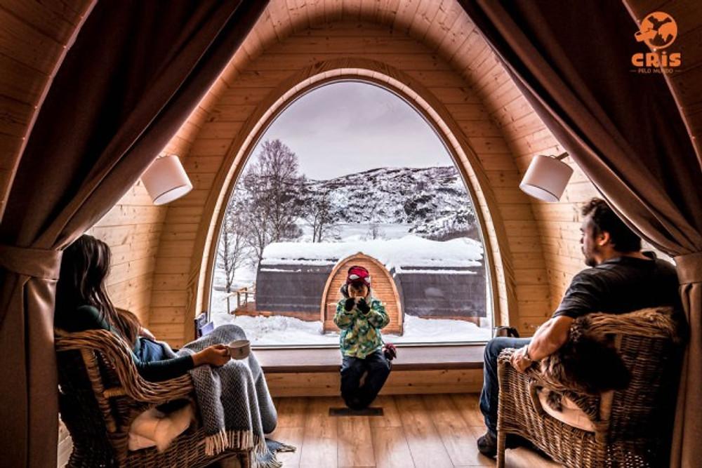 SNOW HOTEL DE GELO KIRKENES CRIS PELO MUNDO HOTEIS PARA VER A AURORA BOREAL ONDE VER AS LUZES DO NORTE NORUEGA