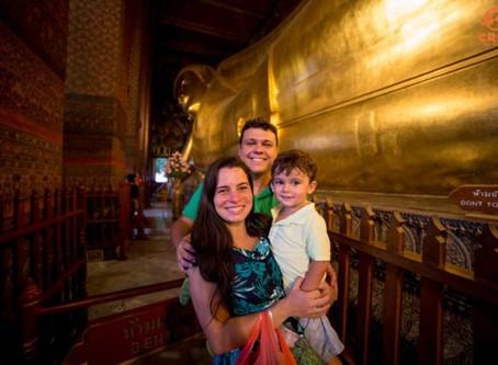 Tailândia com criança