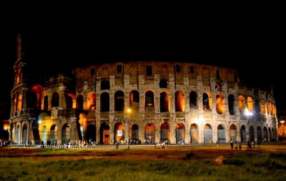 Roma Itália Coliseu.
