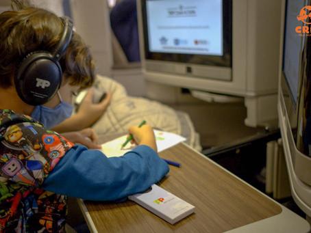 Como é voar na classe executiva da TAP com criança
