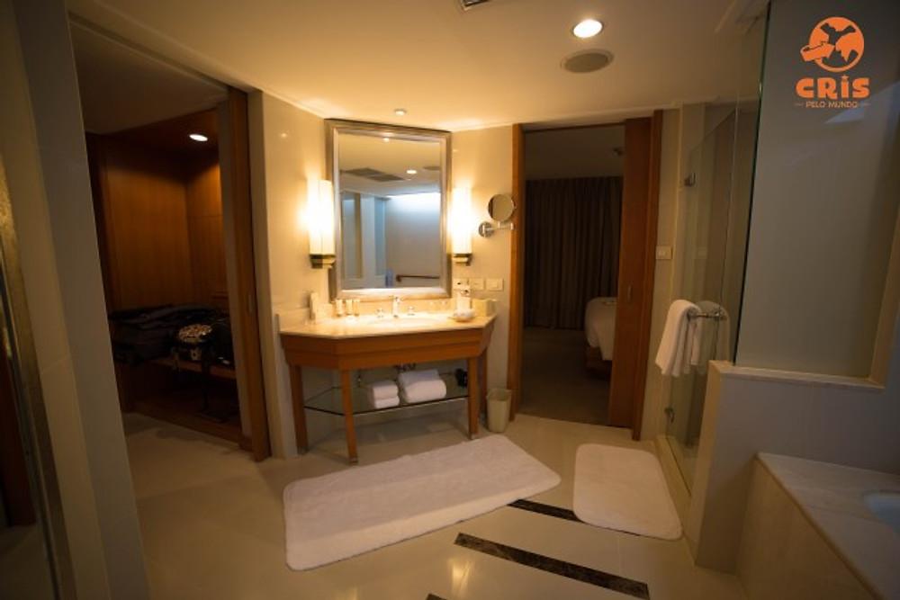 Dusit thani bangkok crispelomundo banheiro quarto closet