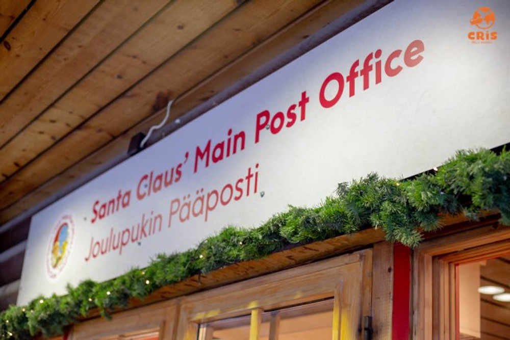 SANTA CLAUS POST OFFICE CORREIO DO PAPAI NOEL EM ROVANIEMI FINLANDIA POLO NORTE SANTA CLAUS VILLAGE
