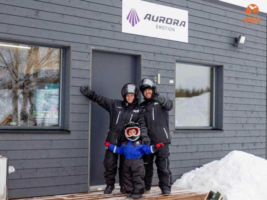 AURORA EMOTION SNOWMOBILE POLO NORTE ROVANIEMI FINLANDIA