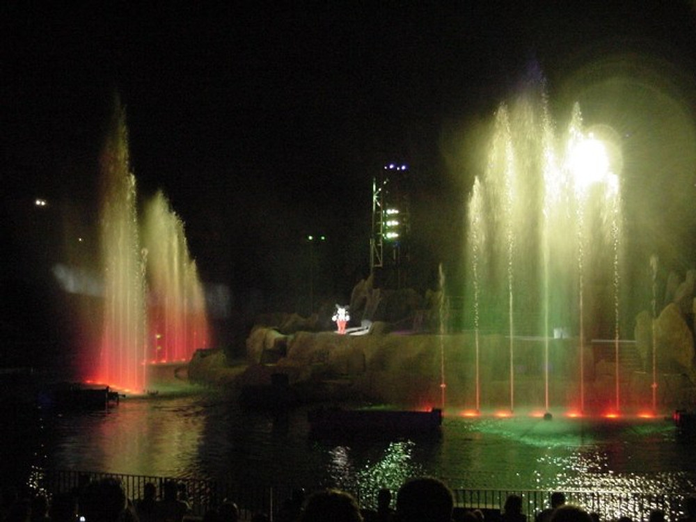 fantasmic parques de orlando