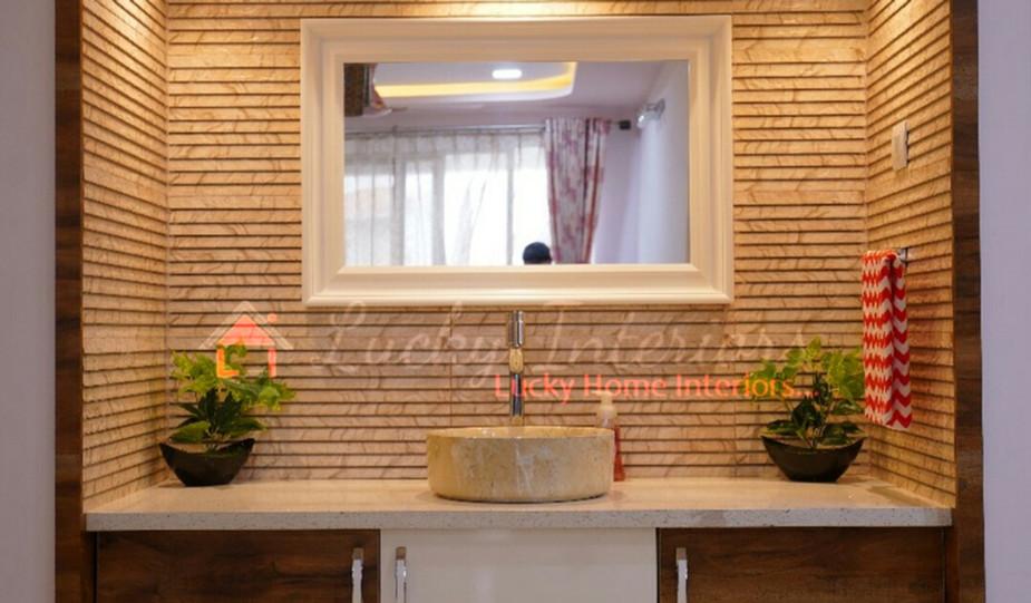 Dining Area Wash Basin Interior Design