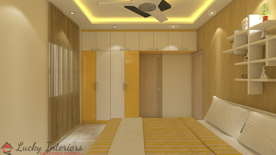 Subtle Bedroom Interiors