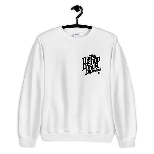 Bishop Boys (#006) - White Unisex Sweatshirt