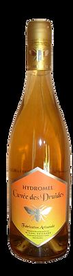 """CréaVinsDeFruits - Hydromel """"Cuvée des Druides"""" issue de miel de châtaignier - Sans Sulfites - 12.5% alc"""