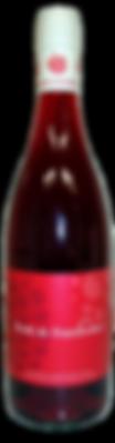 CréaVinsDeFruits - Perlé de framboises - Pétillant - Sans Sulfites - 12% alc