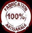 Fabrication 100% artisanale