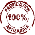 Fabrication 100% artisanale