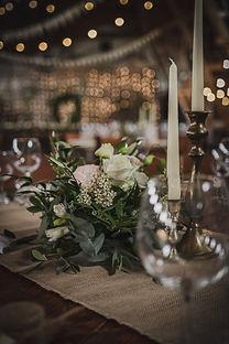 Kompozycja na stół gosci w Ceglarni