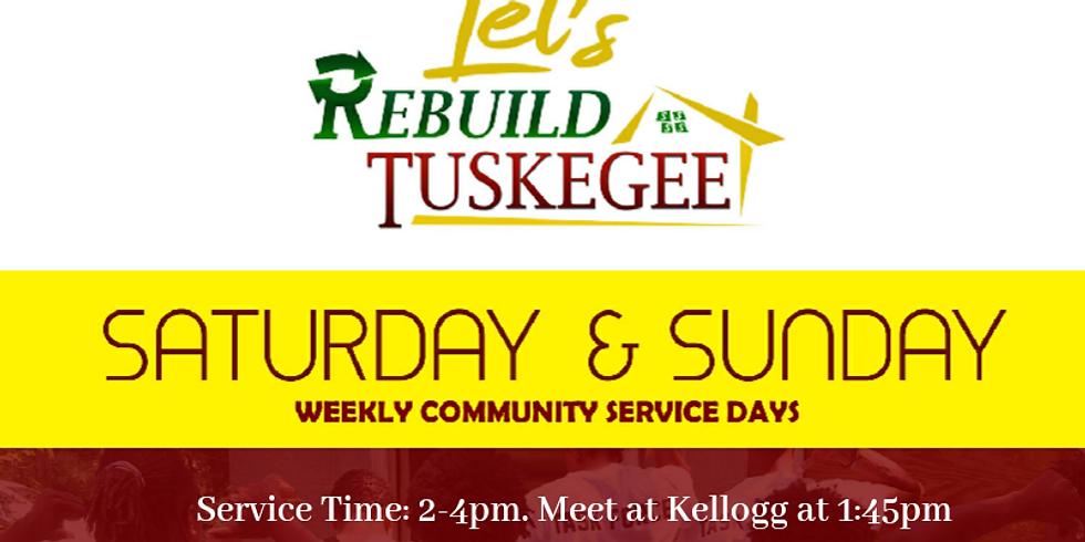 Rebuild Tuskegee Service Saturday