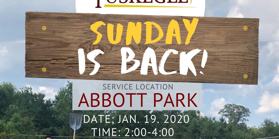 Rebuild Tuskegee Sunday at Abbott Park