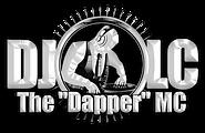 DJ LC Logo Metal White.png