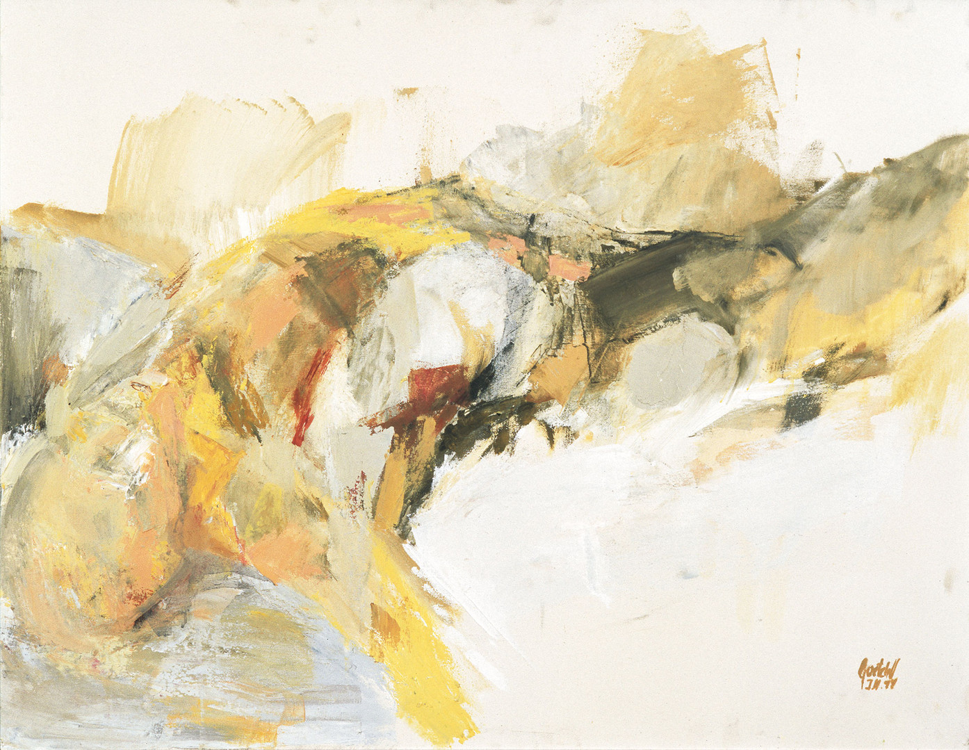 männl Akt 1996 80x60 cm