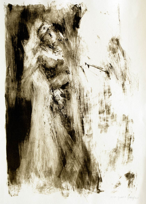 Taenzerin 2000, Litho, 50x70 cm