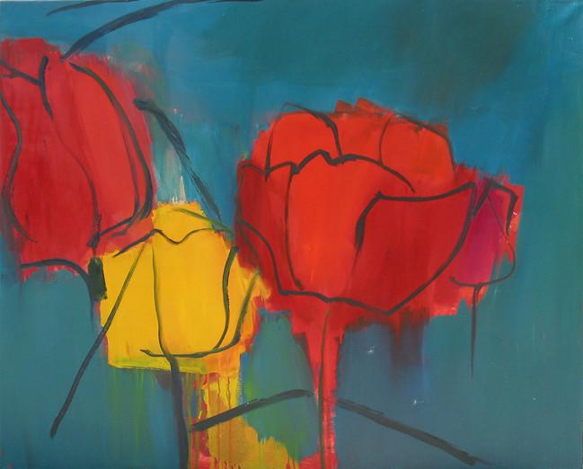 Tulpen 2014_100x80 cm