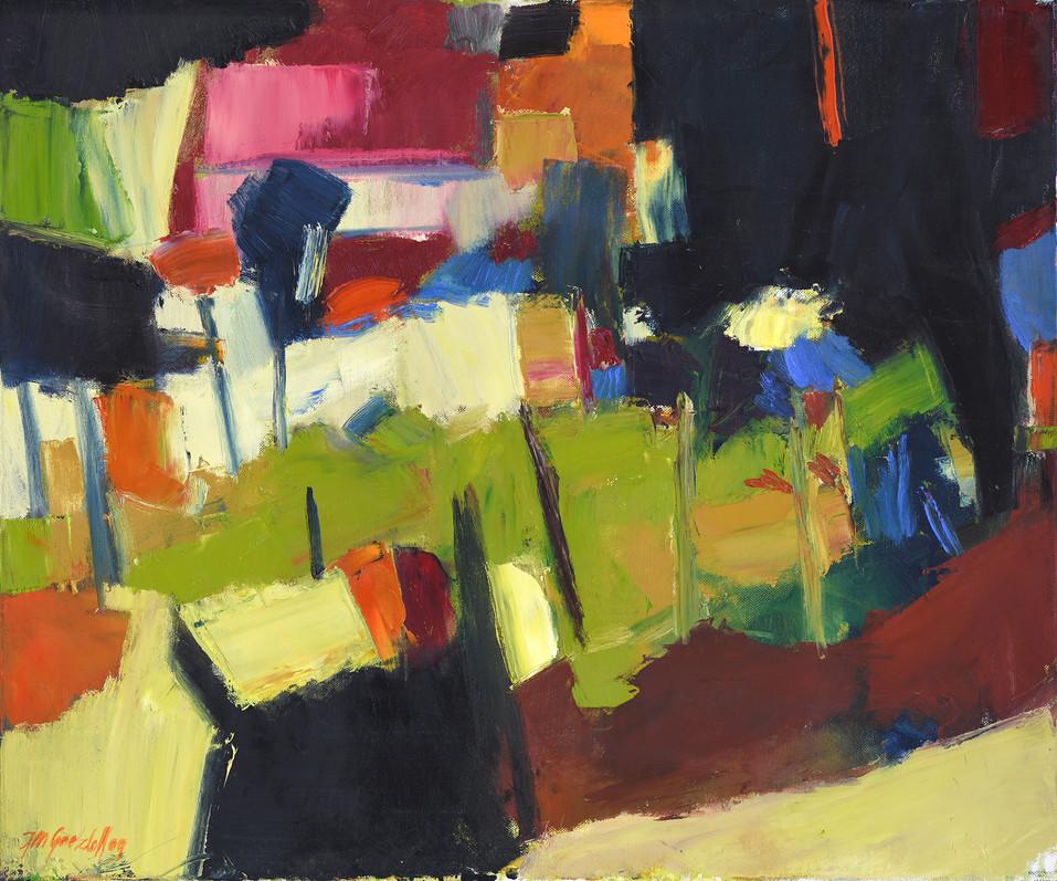 Im Garten 2009 (HR Estergom) 60x50 cm_1007