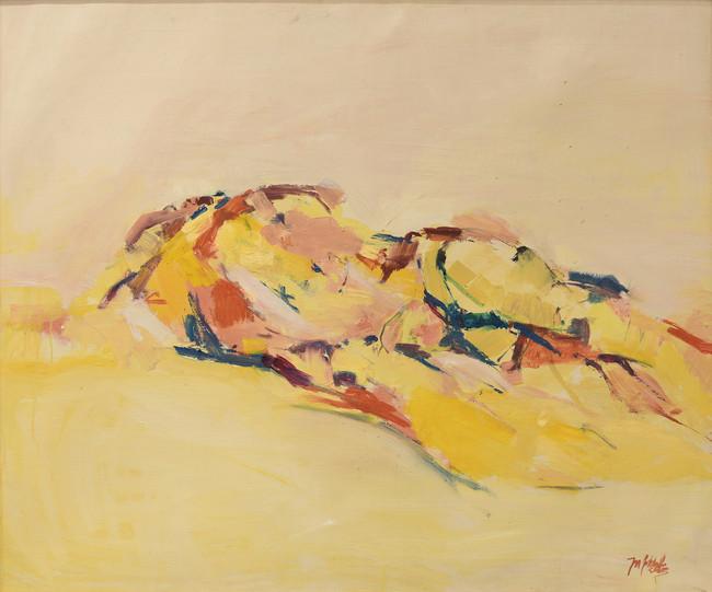 männl. Akt, 105x125 cm, 9534
