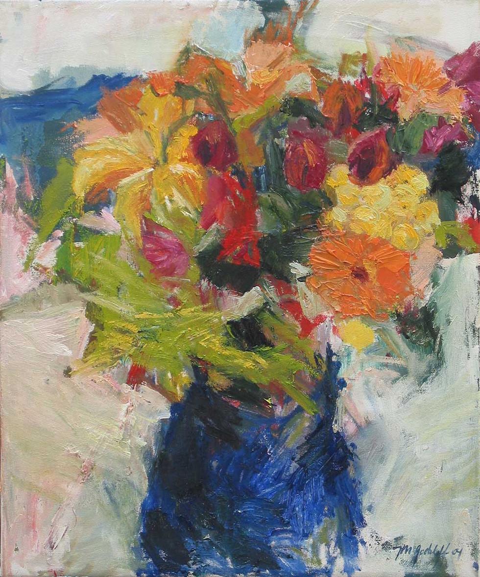 Blumenstrauß 2004, 60x50 cm